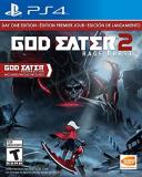 Ps4 God Eater 2 Rage Burst (day 1 Edition)