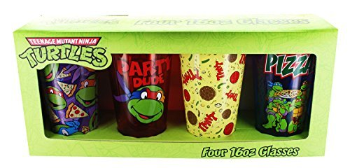 Pint Glass Tmnt 4 Party Glasses