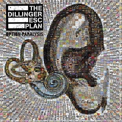 Dillinger Escape Plan Option Paralysis (red Vinyl) Limited To 500 Pieces.