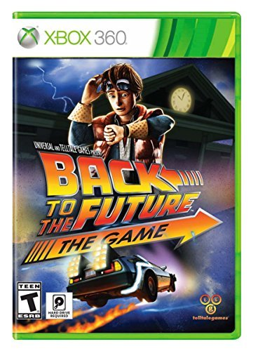 Xbox 360 Back To The Future The Game 30th Anniversary