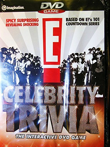 E! Celebrity Trivia The Interactive DVD Game