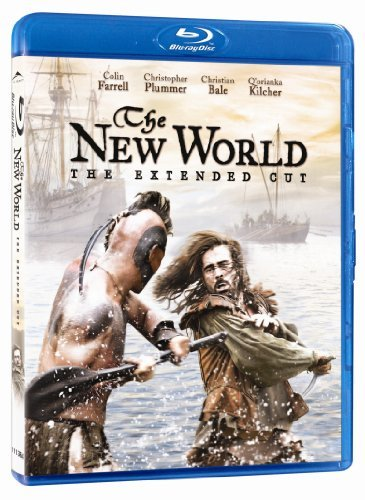 The New World (extended Cut) Farrell Plummer Bale Kilcher Blu Ray