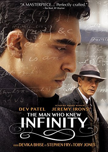 Man Who Knew Infinity Patel Irons DVD Pg13