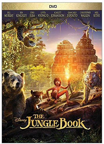 Jungle Book (2016) Sethi Murray Kingsley DVD Pg