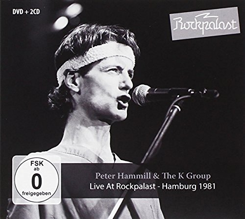 Peter & K Group Hammill Live At Rockpalast 2cd Incl.Dvd