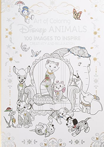 Catherine Saunier Talec Art Of Coloring Disney Animals 100 Images To Inspire Creativity