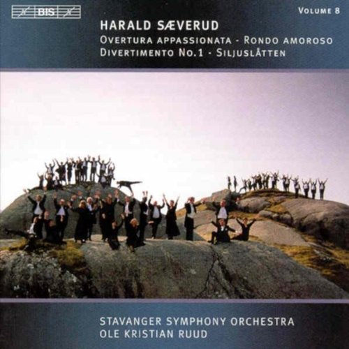 H. Saeverud Orchestral Music Vol. 8 Ruud Stavanger So