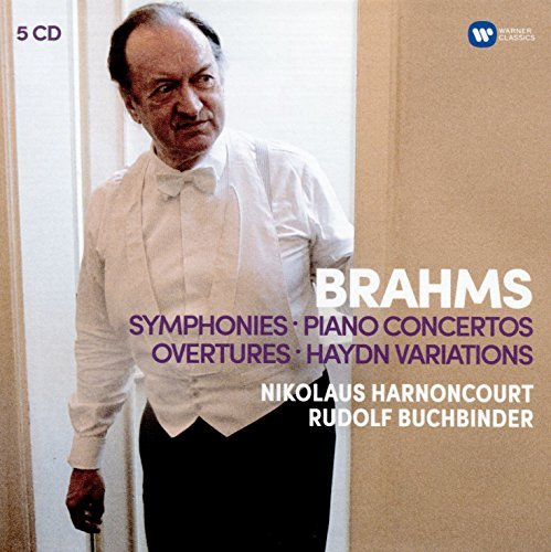 Nikolaus Harnoncourt Brahms Symphonies Overtures; Haydn Variations Piano Concertos (5cd)