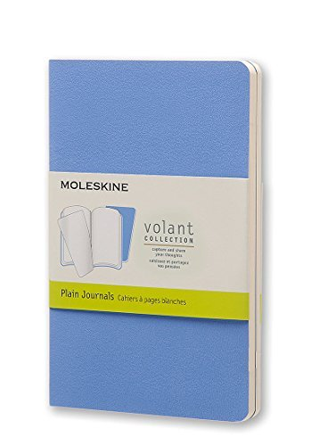 Moleskine Moleskine Volant Journal (set Of 2) Pocket Plain