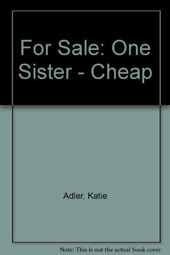Katie Adler For Sale One Sister Cheap