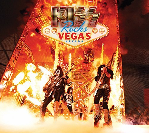 Kiss Kiss Rocks Vegas DVD CD Combo