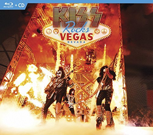 Kiss Kiss Rocks Vegas Blu Ray CD Combo