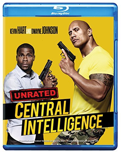 Central Intelligence Johnson Hart Blu Ray Dc Pg13