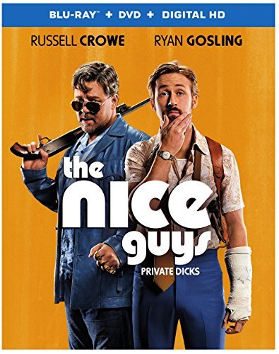 The Nice Guys Crowe Gosling Blu Ray DVD Dc R