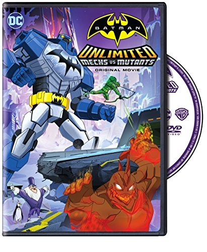 Batman Unlimited Mechs Vs. Mutants DVD