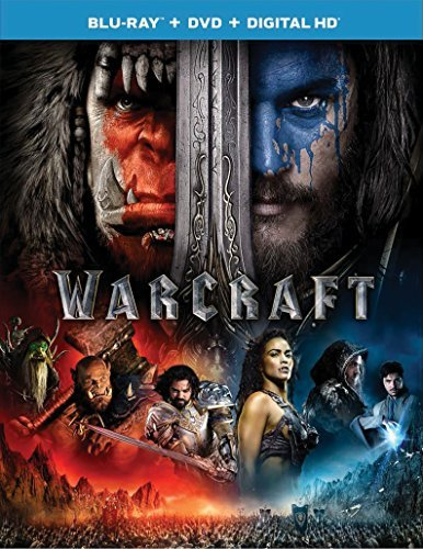 Warcraft Fimmel Patton Foster Cooper Blu Ray DVD Dc Pg13