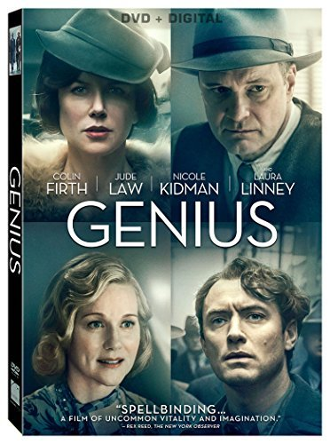 Genius Firth Law Kidman Linney Pearce DVD Dc Pg13