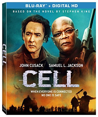 The Cell (2016) Cusack Jackson Blu Ray Dc R