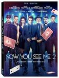 Now You See Me 2 Eisenberg Ruffalo Harrelson Franco Radcliffe DVD Dc Pg13