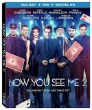 Now You See Me 2 Eisenberg Ruffalo Harrelson Franco Radcliffe Blu Ray DVD Dc Pg13
