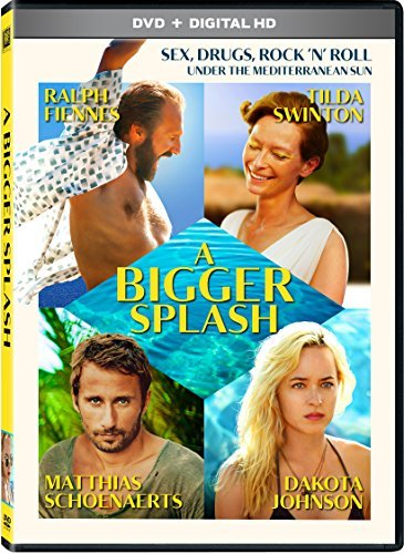 Bigger Splash Swinton Schoenaerts Fiennes Johnson DVD Dc R