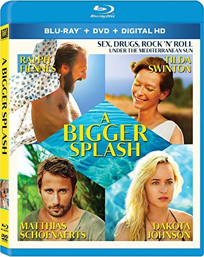 Bigger Splash Swinton Schoenaerts Fiennes Johnson Blu Ray DVD Dc R