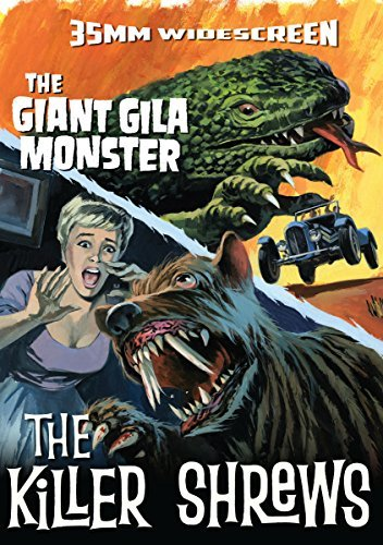 Killer Shrews Giant Gila Monster Double Feature DVD Nr