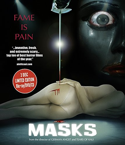 Masks Masks Blu Ray DVD CD Unrated