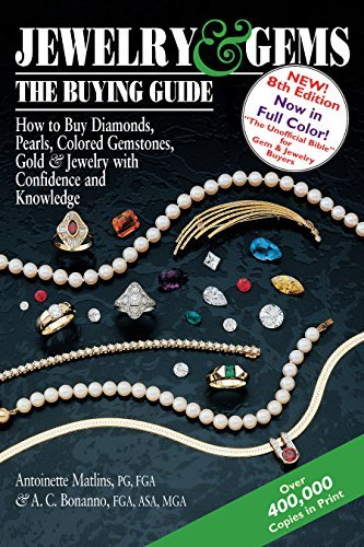 Antoinette Leonard Matlins Jewelry & Gems The Buying Guide 8th Edition How To Buy Diamonds Pearls Colored Gemstones G 0008 Edition;edition New
