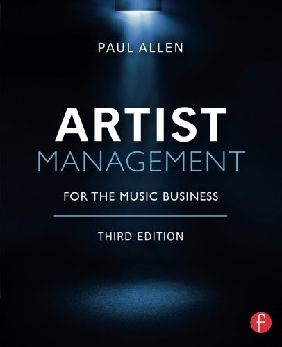 Paul Allen Artist Management For The Music Business 0003 Edition;