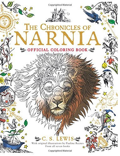 C. S. Lewis The Chronicles Of Narnia Official Coloring Book