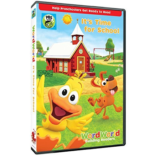Wordworld It's Time For School DVD