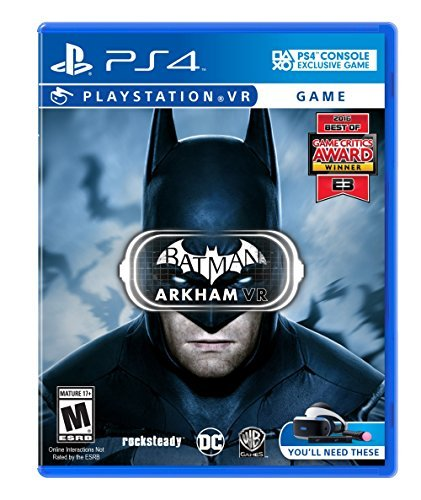 Ps4vr Batman Arkham Vr **requires Playstation Vr**