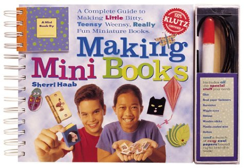 Scholastic Making Mini Books Klutz