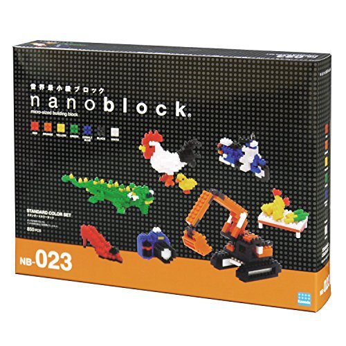 Nanoblocks Standard Color Set