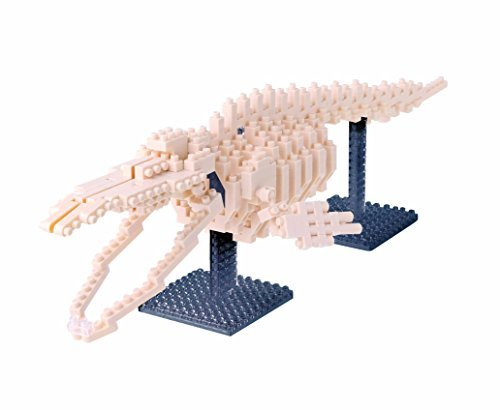 Nanoblocks Blue Whale Skeleton Mod