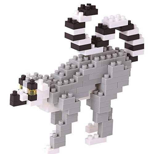Nanoblocks Ring Tailed Lemur