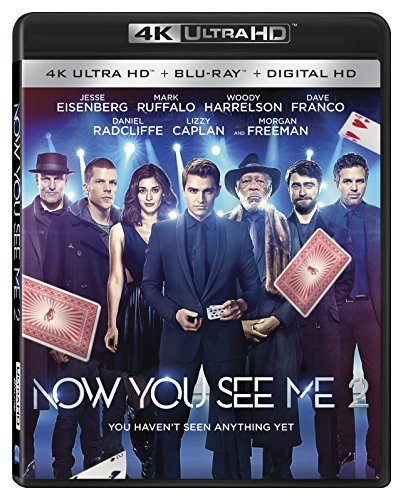 Now You See Me 2 Eisenberg Ruffalo Harrelson Franco Radcliffe 4k Pg13