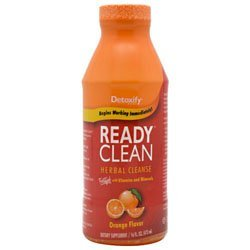 Detoxify Ready Clean Orange 16oz