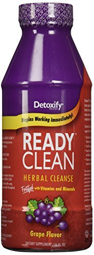 Detoxify Ready Clean Grape 16oz