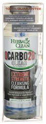 Herbal Clean Qcarbo20 Clear Lemon Lime 8 Case