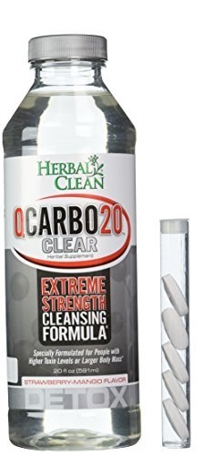 Herbal Clean Qcarbo20 Clear Strawmango 8 Case