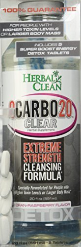 Herbal Clean Qcarbo20 Clear Cranrasp 8 Case