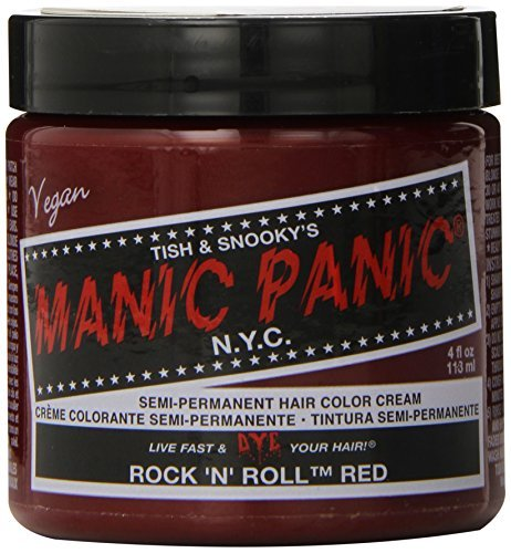 Hair Color Cream Rock N Roll Red