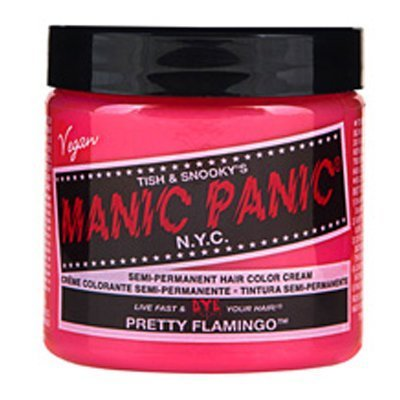 Hair Color Cream Pretty Flamingo 6 Blacklight Freindly