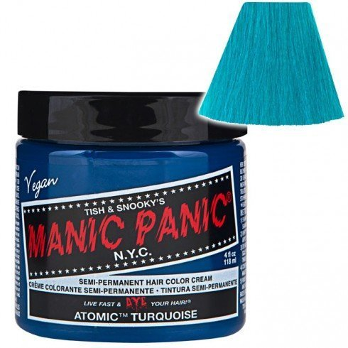 Hair Color Cream Atomic Turquoise