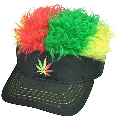Hat Tri Color Mary Jane Flair Hair