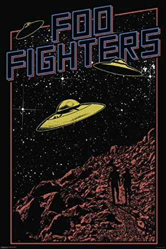 Poster Foo Fighters Dave Grohl