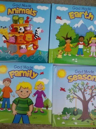 The Clever Factory God Made Animals Earth Family & Seasons 4 Pack