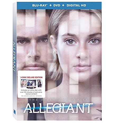 Divergent Allegiant Woodley James 3 Disc Deluxe Edition
